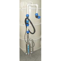 Vystrojení čerpací šachty pro tlakovou kanalizaci