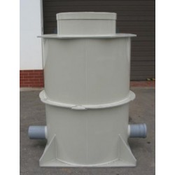 Kanalizační šachta  samonosná prům.1000 x 1300 mm