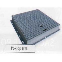 Litinový poklop HY L 50  400 x 400 mm