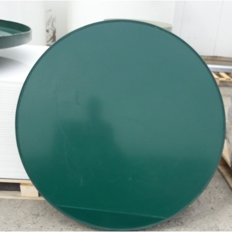 Poklop plastový  zelený 1000 mm na studnu