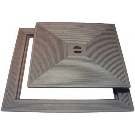 Litinový poklop FO  600 x 600 mm