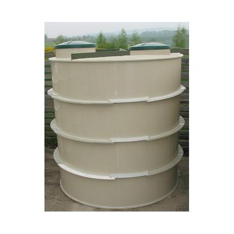Biologický septik 4 m - kruhový samonosný