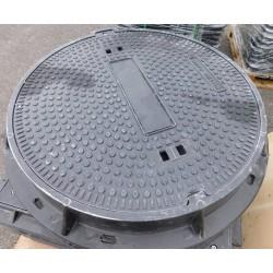 Poklop plastový KOMPOZIT prům.600 mm, tř. D 400