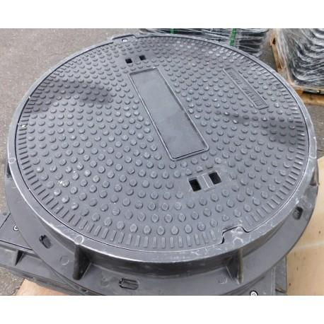 Poklop plastový KOMPOZIT prům.600 mm, tř. A 15