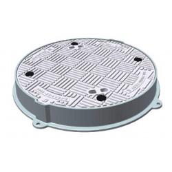 Litinový poklop  proti vzedmutí prům. 600 mm