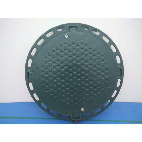 Poklop zelený plastový PLZK prům. 600 mm