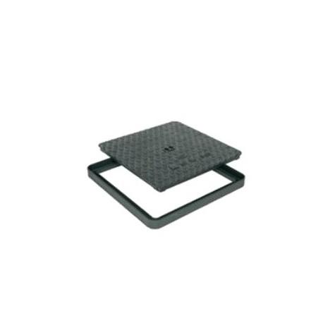 Litinový poklop HC 500 x 500 mm - pachotěsný