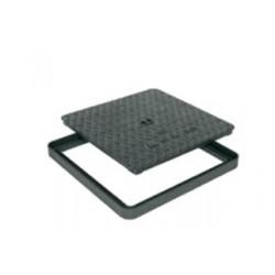 Litinový poklop HC 600 x 600 mm - pachotěsný