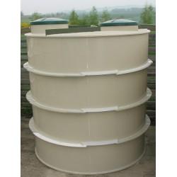 Biologický septik 5 m3 - kruhový samonosný