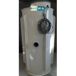 Čerpací šachta tlaková kanalizace 1000 x 1500 mm ( k obetonování )