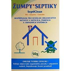 Bakterie pro žumpy a septiky 50 g