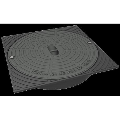 Litinový poklop IBER prům.400 mm